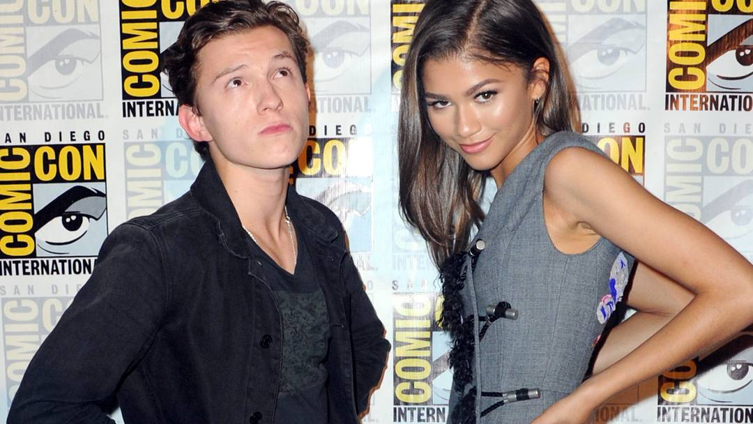 Tom Holland and Zendaya at SDCC '16 (MTV)
