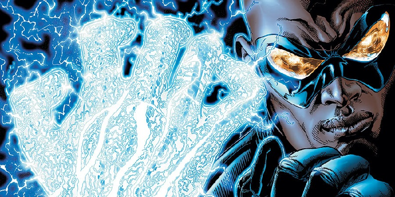 A Black Lightning live-action series is in the works!