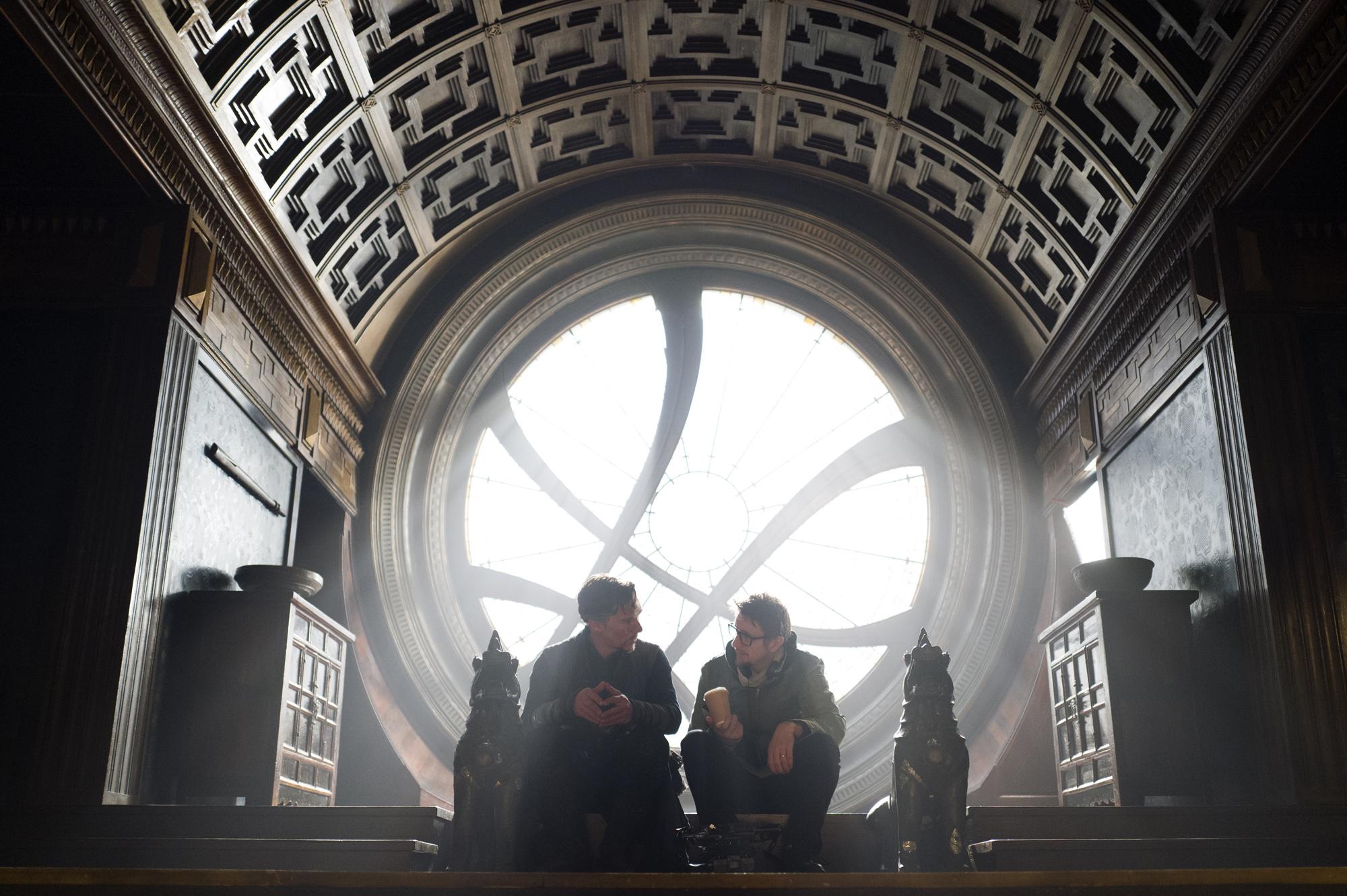 Cumberbatch with Derrickson!