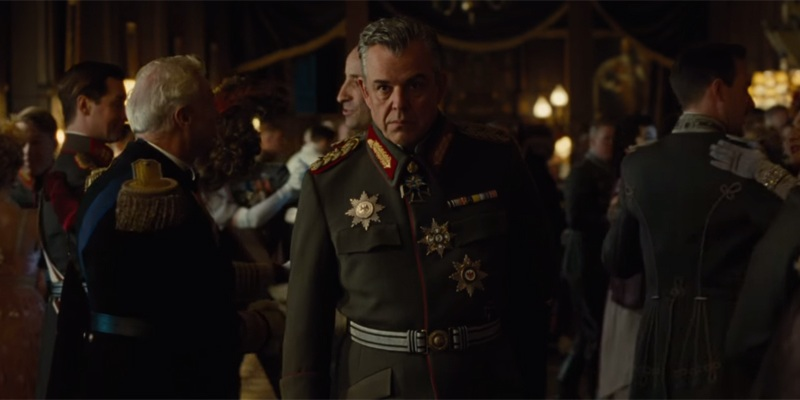 Danny Huston also seems to be playing a villain in Wonder Woman