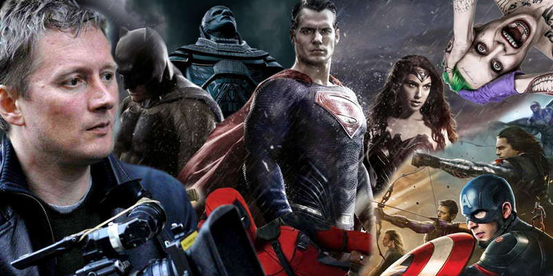 David Mackenzie is tired of superhero movies!