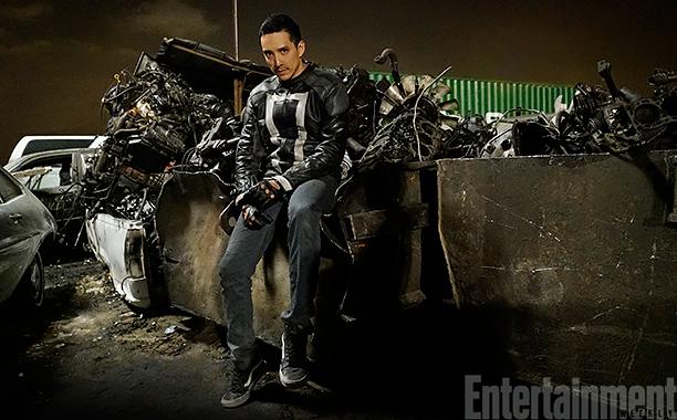 First look at Gabriel Luna as Ghost Rider Robbie Reyes