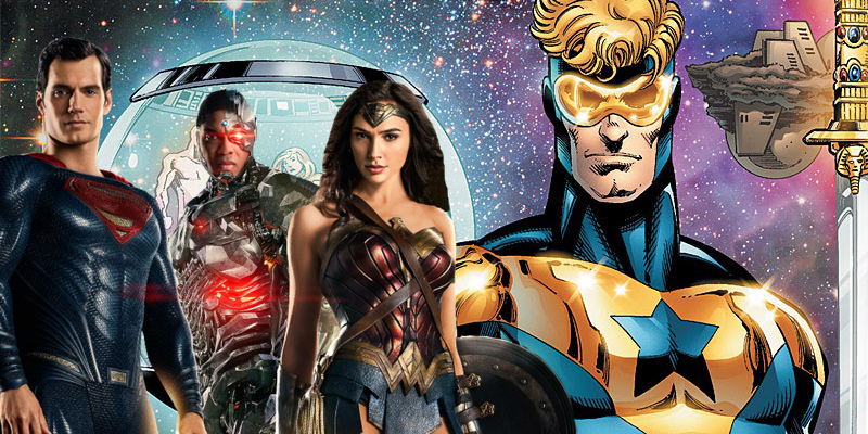 Greg Berlanti says Booster Gold is not intended to have connections with the DC Extended Universe!