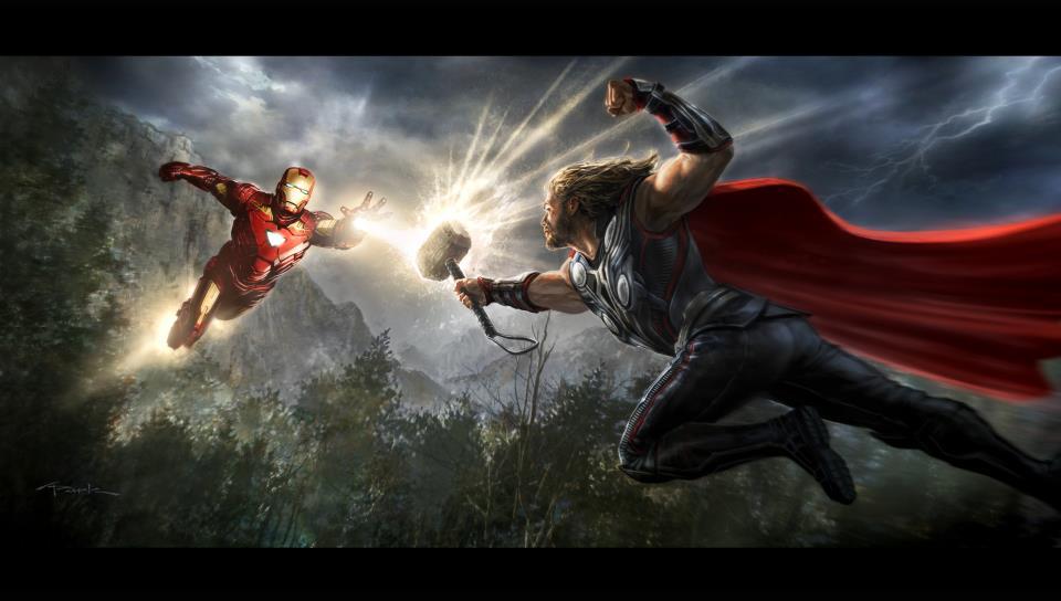 Iron Man vs. Thor (Basis Bugle)
