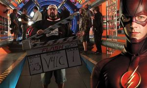 Kevin Smith says his episode in The Flash Season 3 is the calm before the storm!