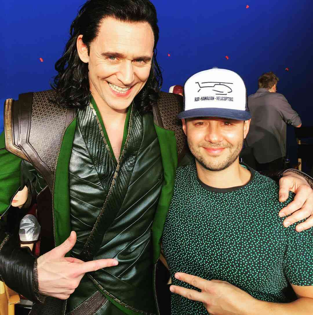 Loki's suit seems quite the same as before!