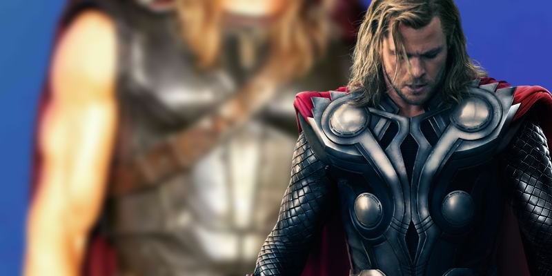 New photos from the set of Thor: Ragnarok offer our first look at Thor's upgraded costume!