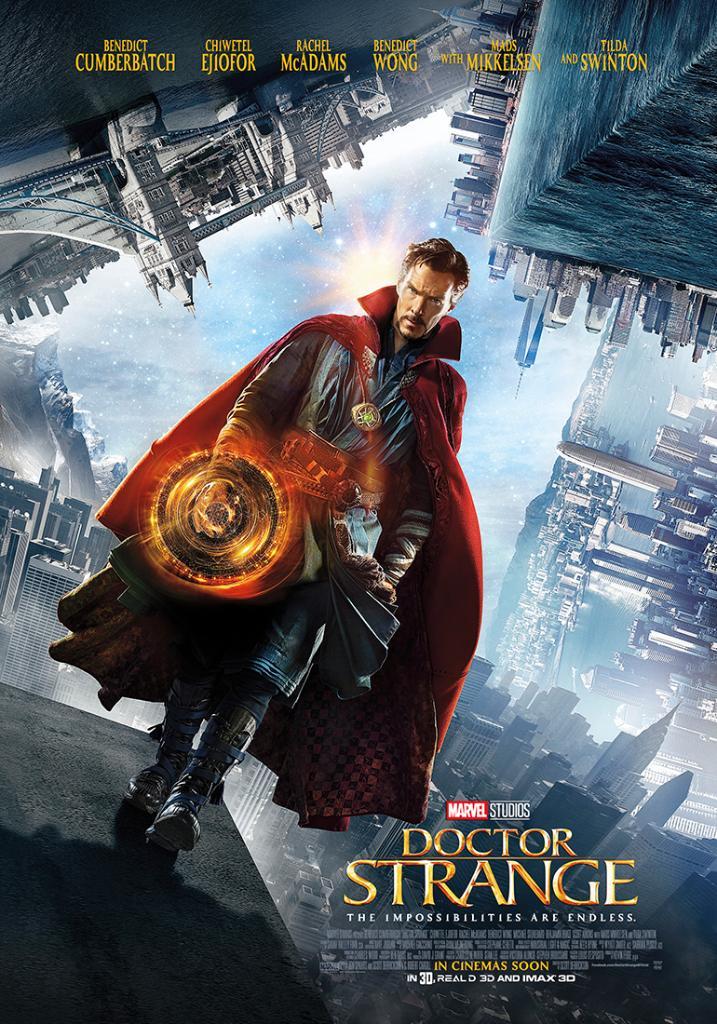New poster for Doctor Strange!