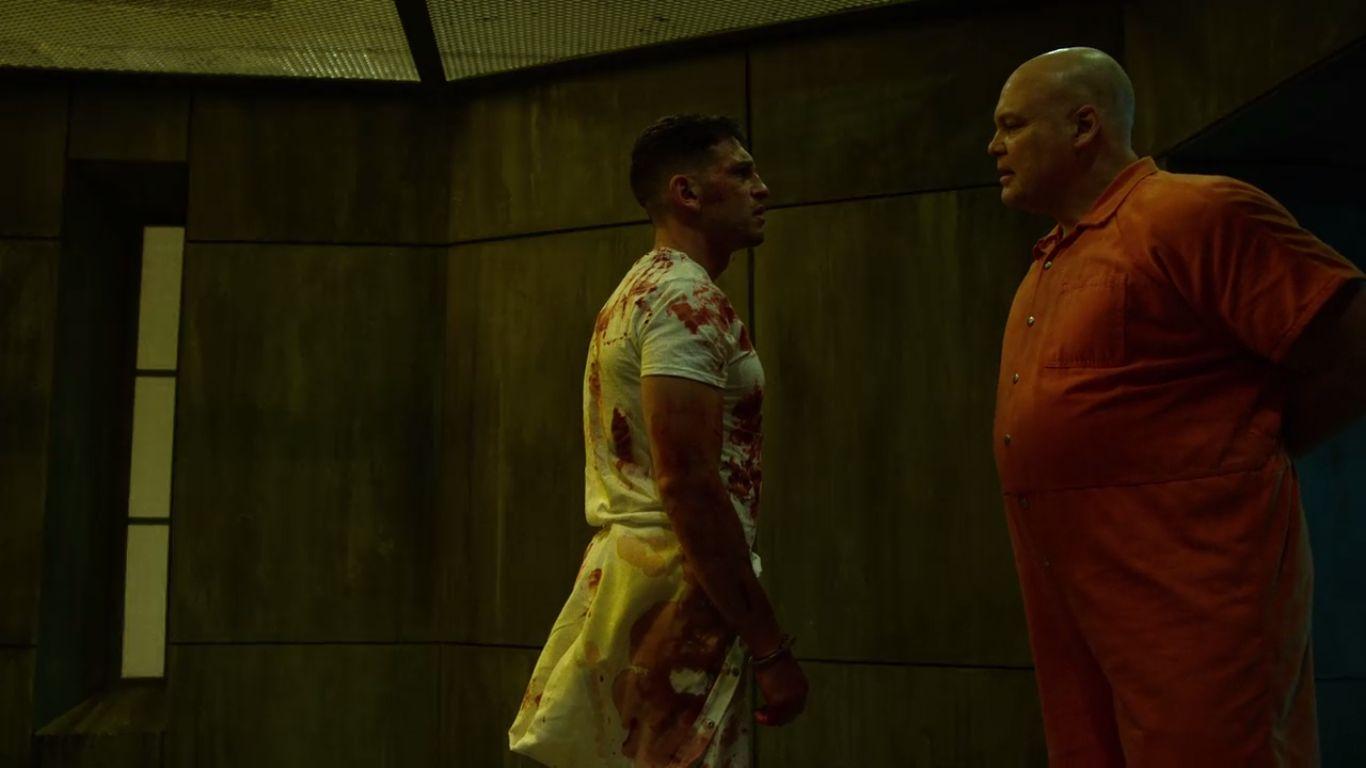 Punisher and Kingpin (Netflix Life)