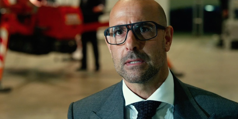 Stanley Tucci confirms that he will appear in Transformers: The Last Knight!