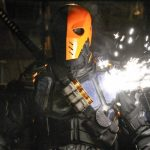 Stephen Amell seems to be teasing the arrival of Deathstroke in Arrow episode 100!