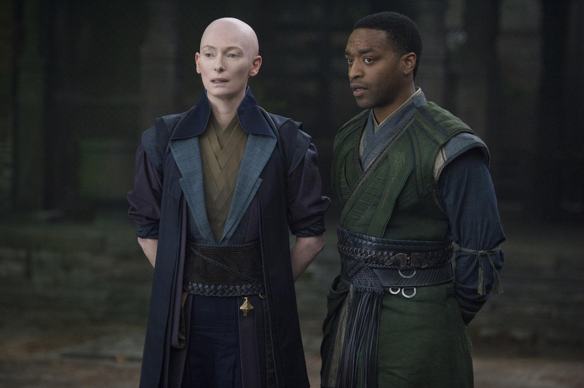 The Ancient One and Baron Mordo!