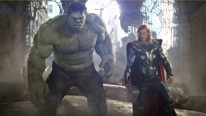 Thor and Hulk (Slash Film)