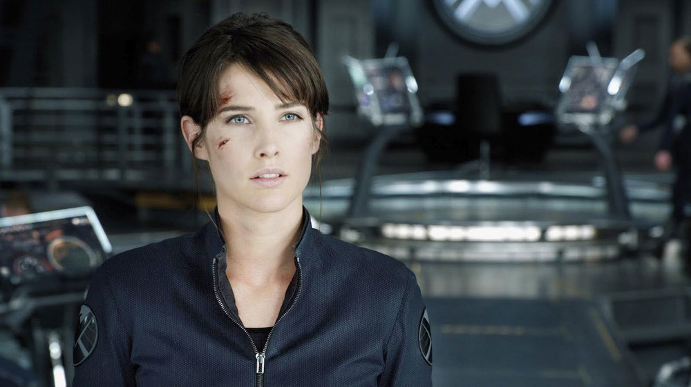 Cobie Smulders as Maria Hill in the first Avengers film (Geek Tyrant)