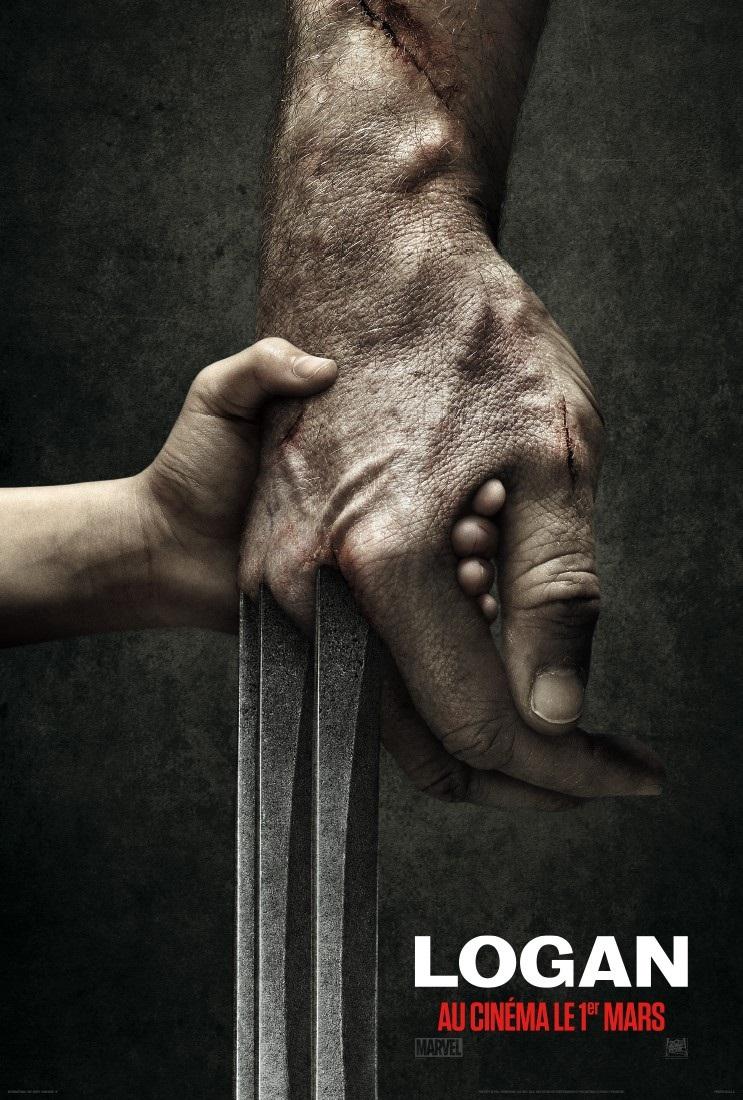 International poster for Logan, the third Wolverine movie!