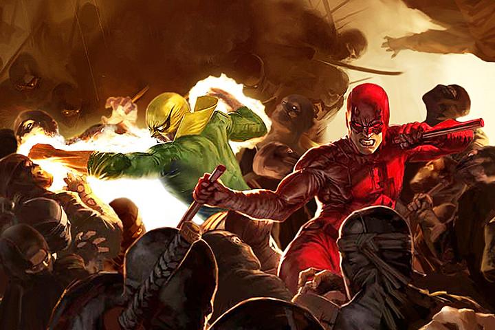 Iron Fist and Daredevil (Screen Crush)
