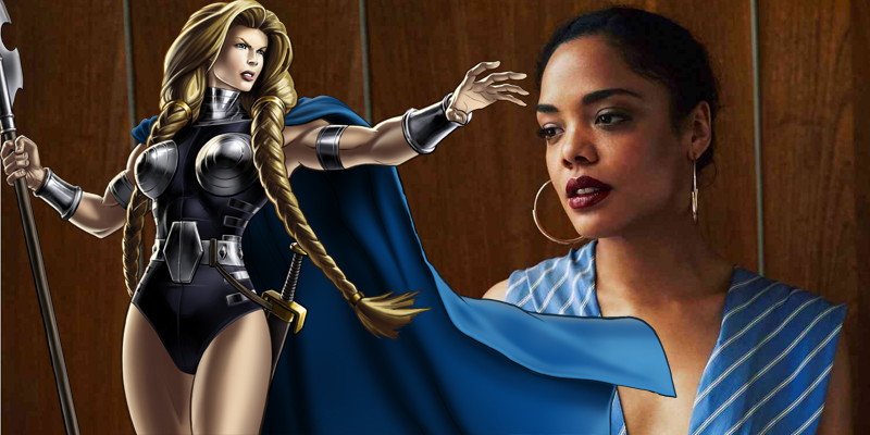 New Thor: Ragnarok set photos offer our first look at Tessa Thompson as Valkyrie!