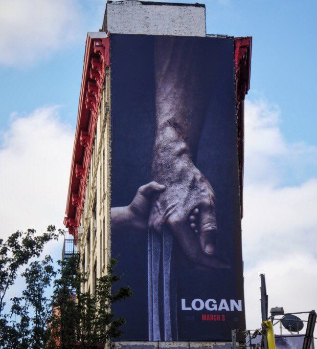 The photo shared by Hugh Jackman to announce the movie's title!