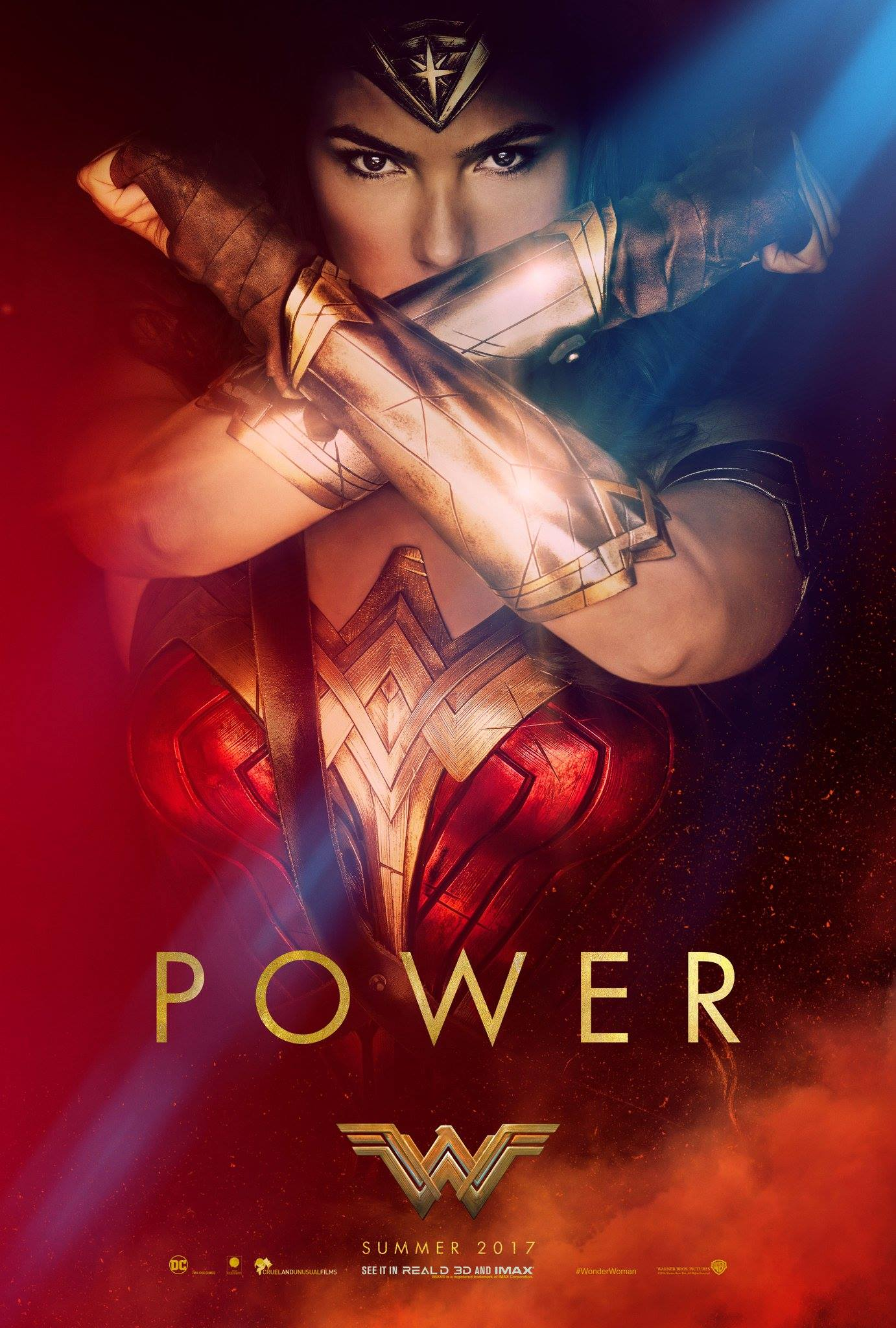 Wonder Woman - Official Poster (via CBM)