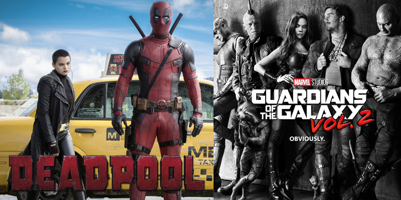 Fox and Marvel swapped characters for Deadpool and Guardians of the Galaxy Vol. 2!