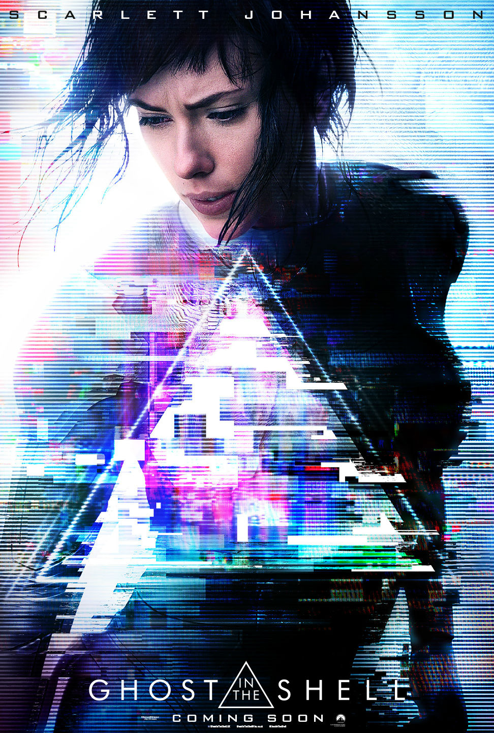 Ghost in the Shell poster (Screen Rant)