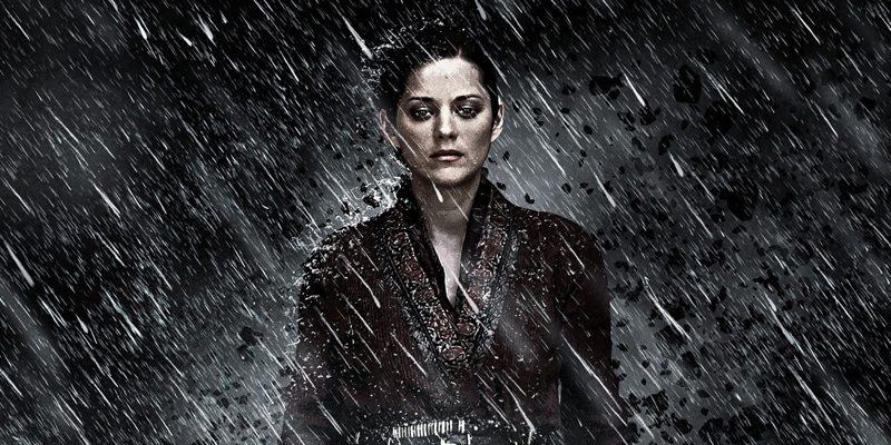 Marion Cotillard as Talia Al Ghul in The Dark Knight Rises!