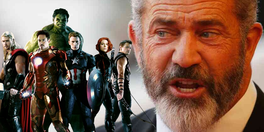 Mel Gibson slams Marvel movies!