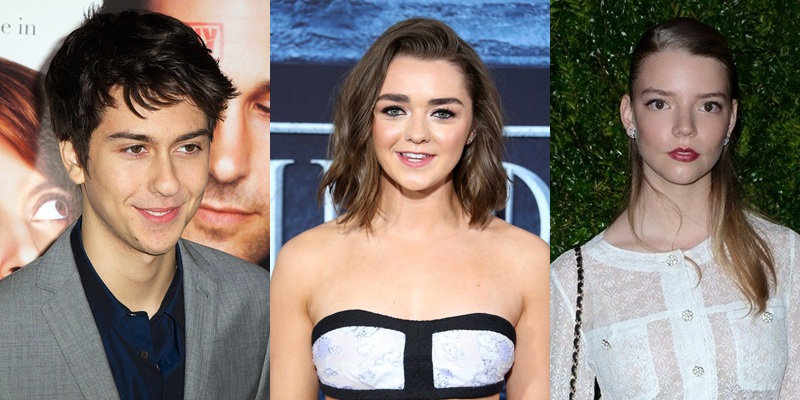 Nat Wolff, Maisie Williams and Anya Taylor-Joy are considered for The New Mutants!