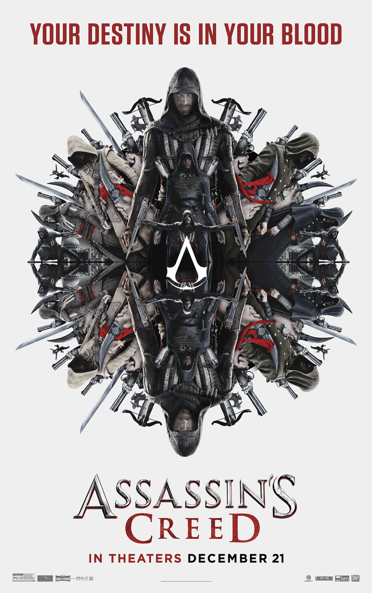 Recently released poster for Assassin's Creed