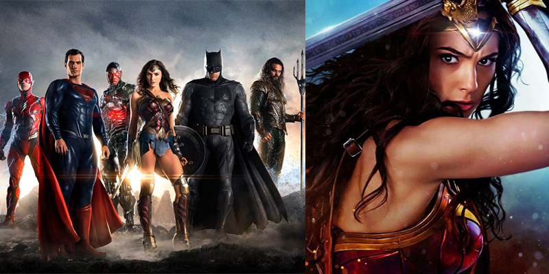 WB is excited about Justice League and Wonder Woman!