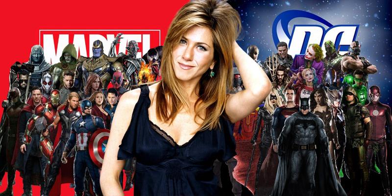 Jennifer Aniston wants to play a superhero!