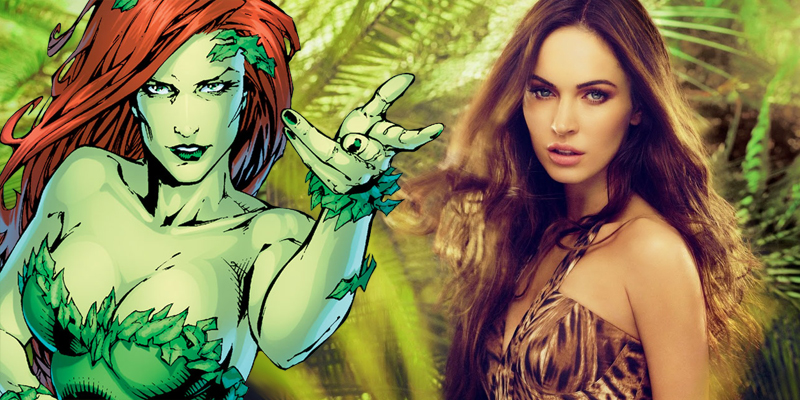 Megan Fox might be lining up to play Poison Ivy in Gotham City Sirens!