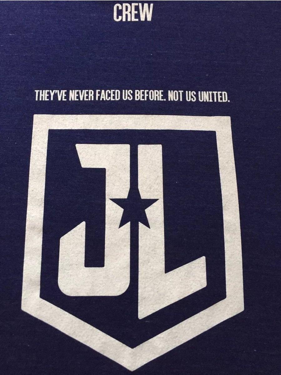 Justice League crew t-shirt