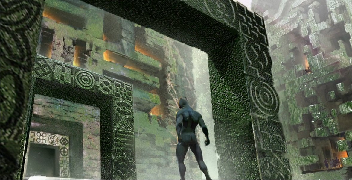 Another Black Panther concept art