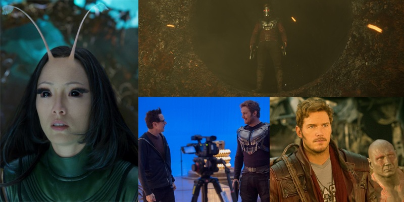 New photos from Guardians of the Galaxy Vol. 2 have been released!