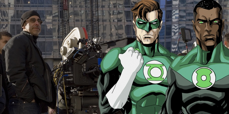 David S. Goyer may end up taking the helm of Green Lantern Corps!