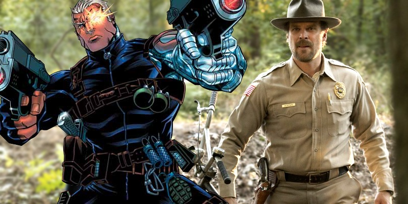 David Harbour is reportedly the current frontrunner for Cable role in Deadpool 2!