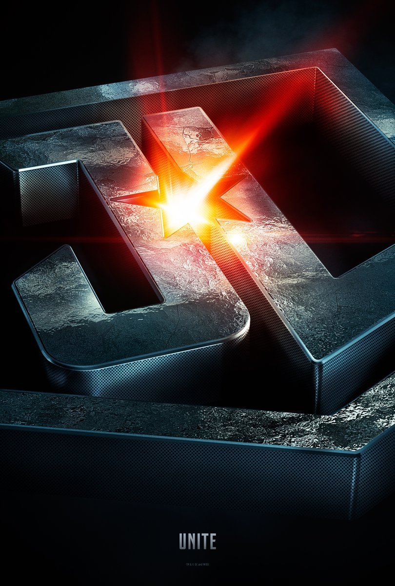 Official poster for Justice League