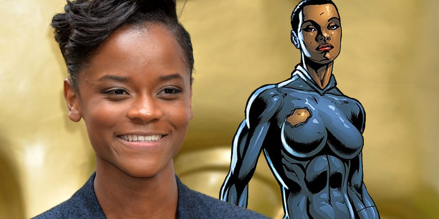 Letitia Wright is playing Shuri in Black Panther!