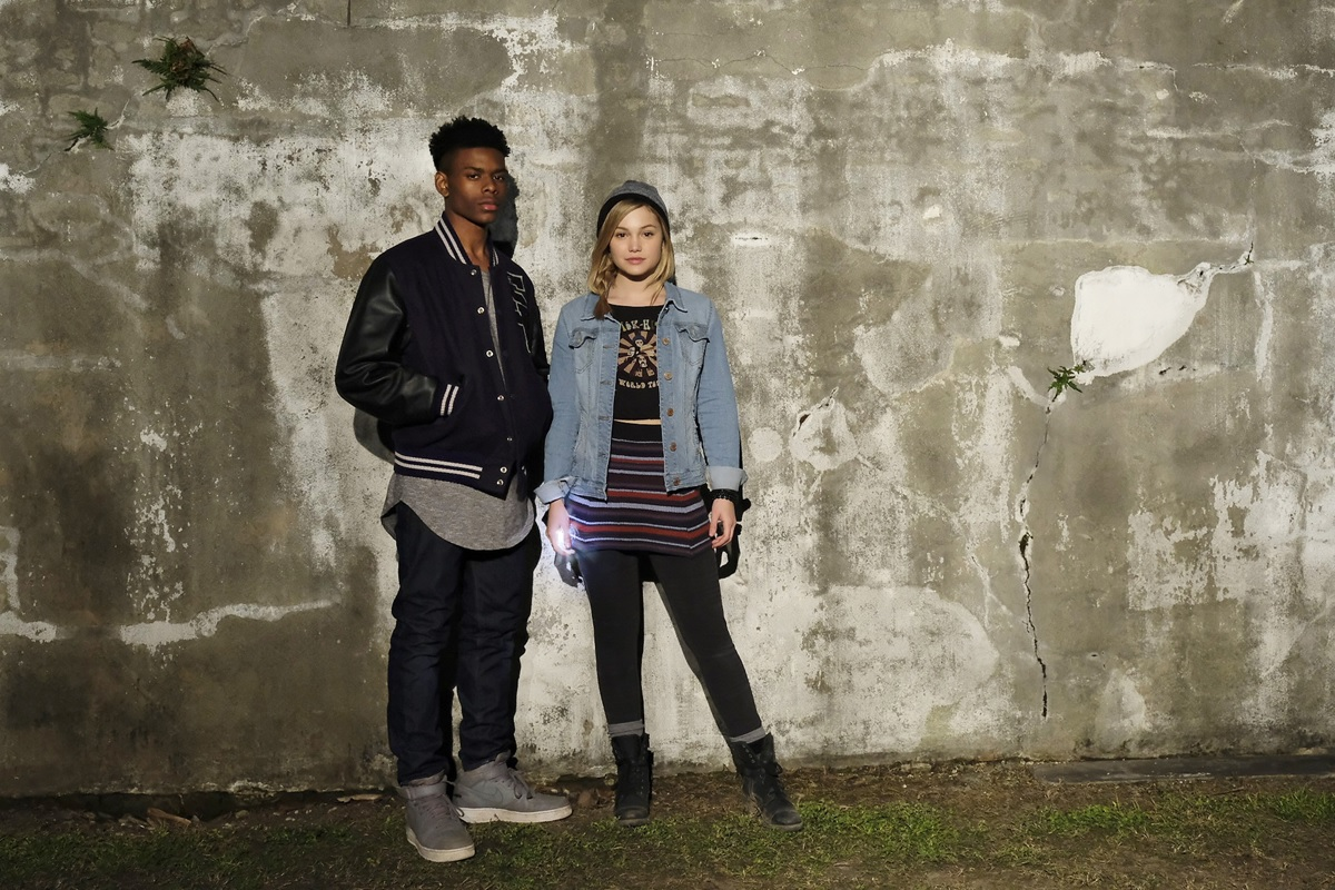 First look at the titular superheroes of Marvel's Cloak and Dagger!