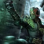 A live-action Judge Dredd series is in the works and its first poster has arrived!