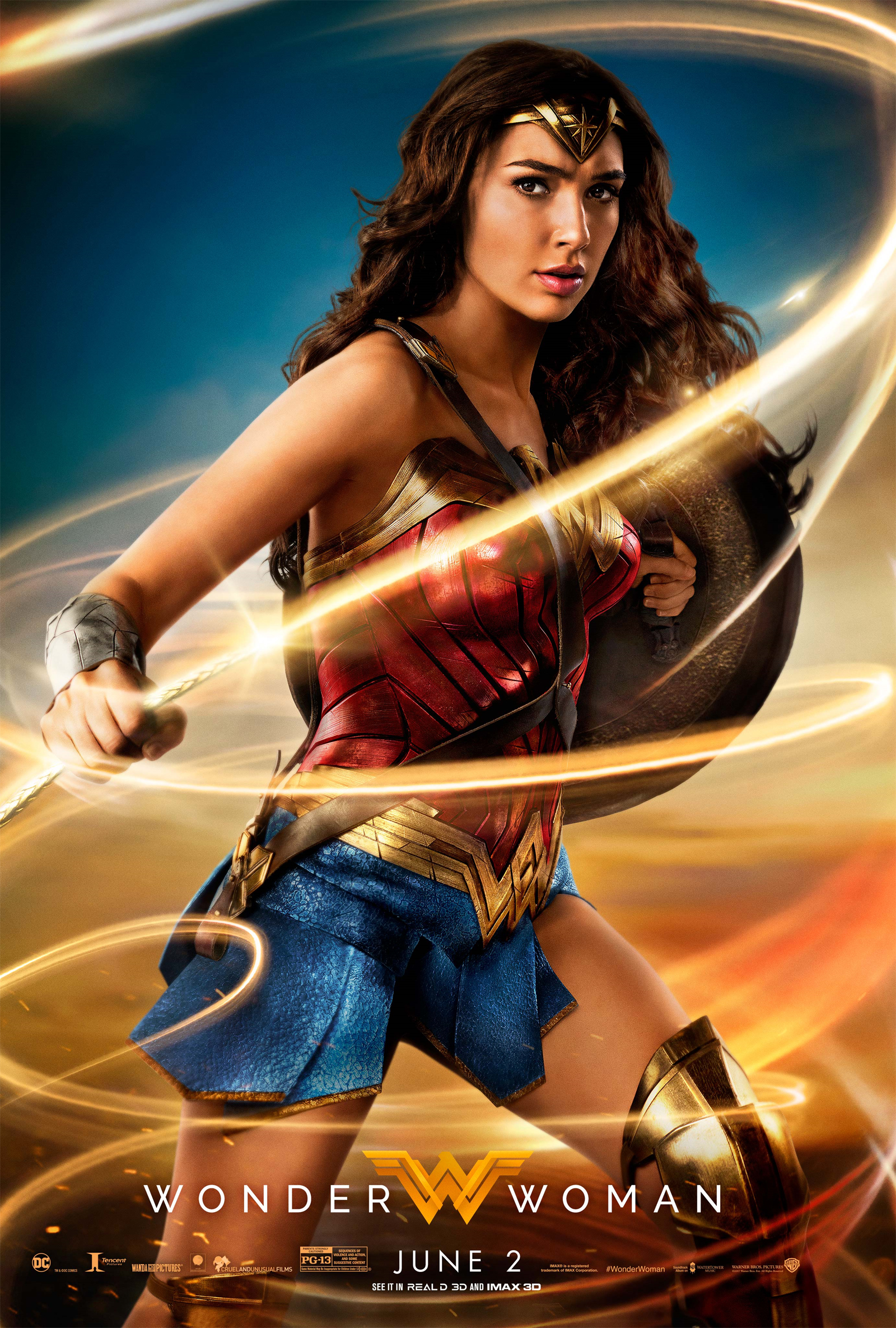 Another Wonder Woman poster