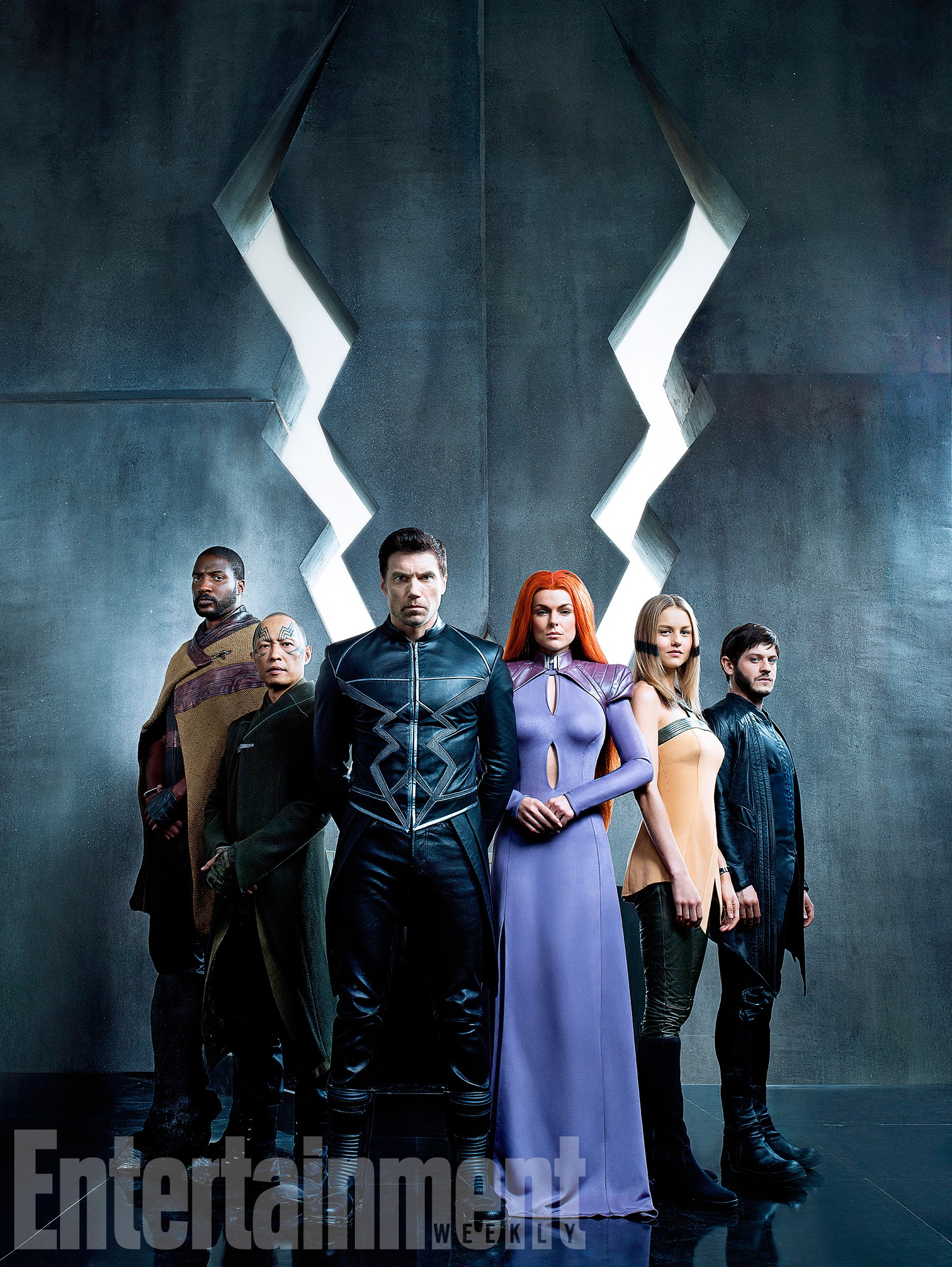 First official look at Inhuman Royal Family of Marvel's Inhumans