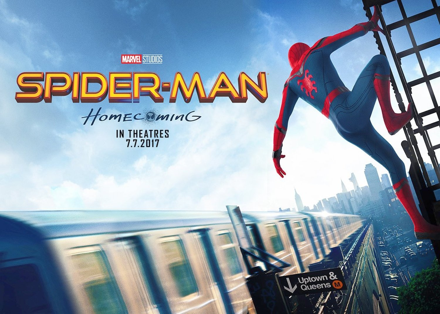 New Spider-Man: Homecoming banner
