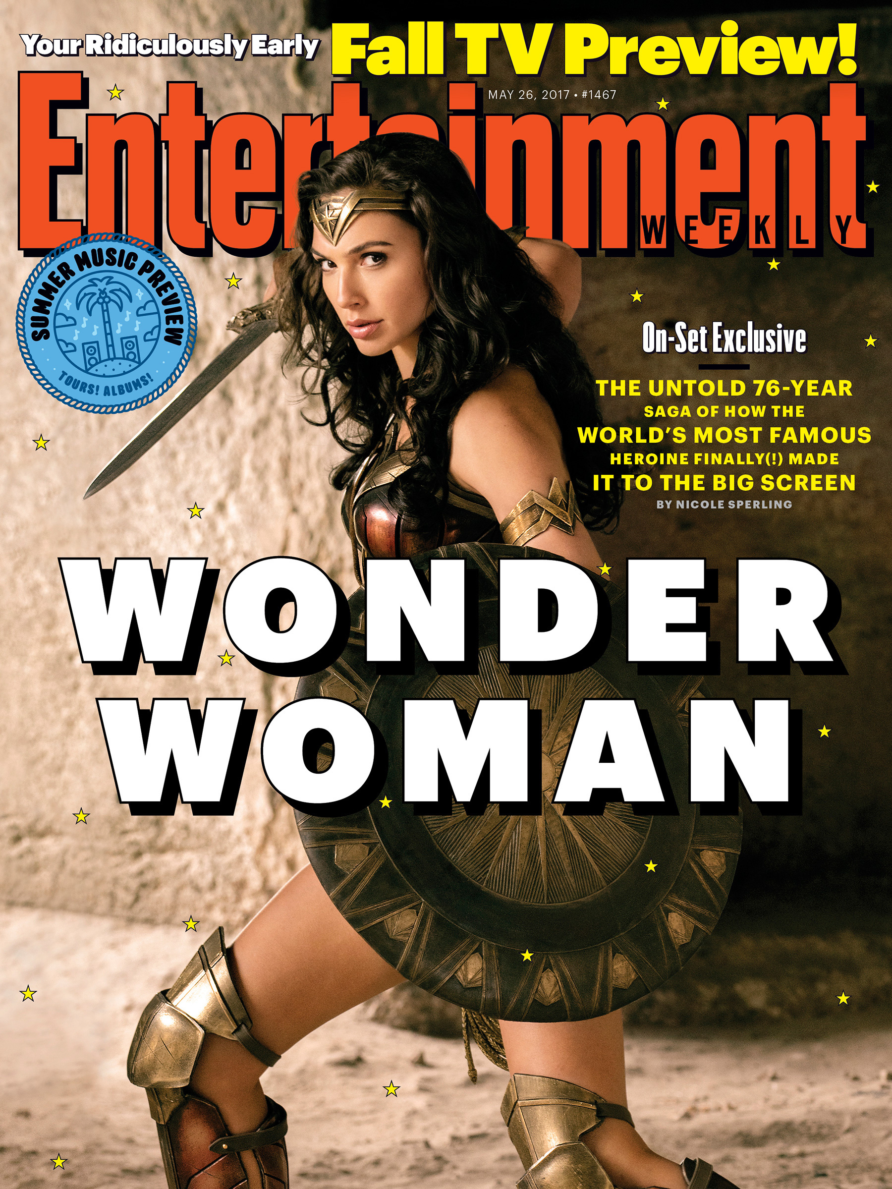 New magazine cover featuring Diana Prince