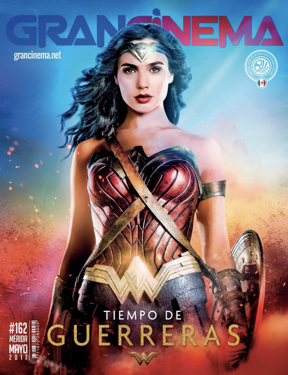 New magazine cover featuring Wonder Woman