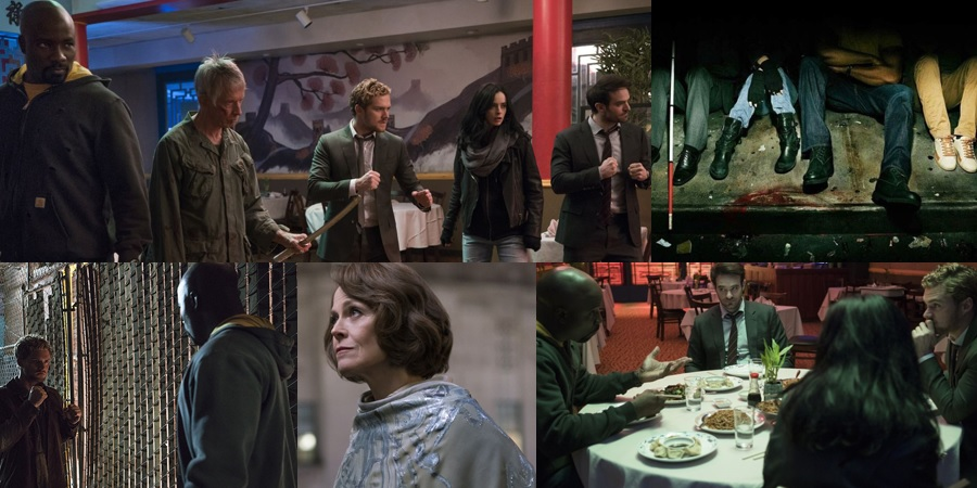 New poster and promotional photos for The Defenders have been released!