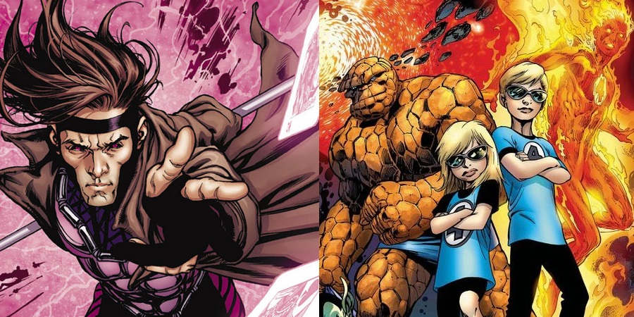 A Gambit and a Fantastic Four movie are also in the works