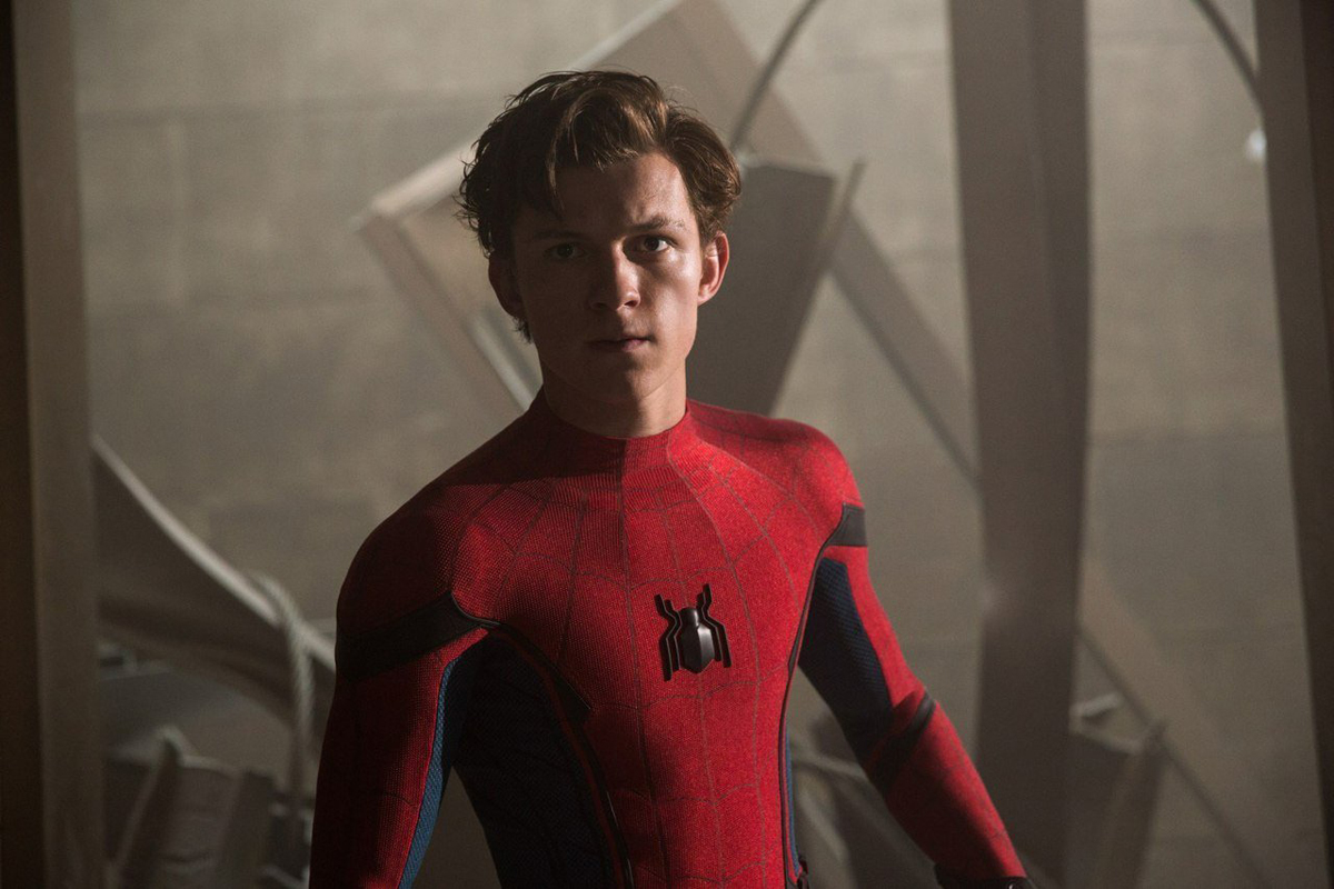 New look at Peter donning his Spider-Man suit