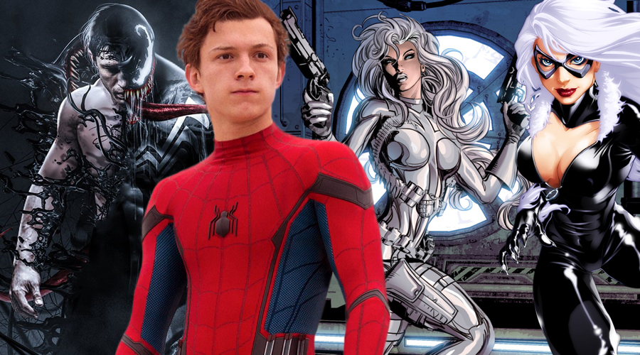 Sony producer Amy Pascal says Spider-Man: Homecoming, Venom and Black and Silver belong to the same world!